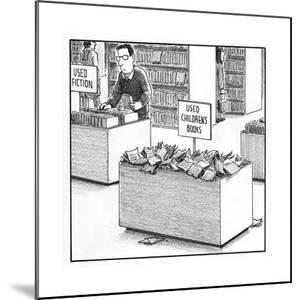 Used Children's Books - Cartoon by Harry Bliss