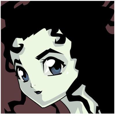 Anime Goth by Harry Briggs