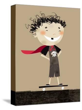 Teenage superhero