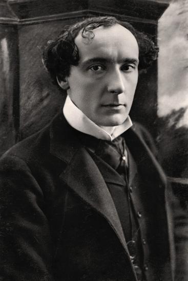 Harry Brodribb Irving (1870-191), English Actor, Early 20th Century- Vandyk-Photographic Print