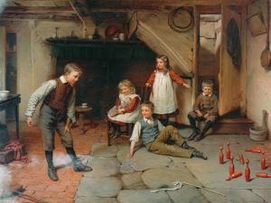 Skittles, 1905 by Harry Brooker