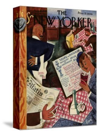 The New Yorker Cover - August 20, 1932