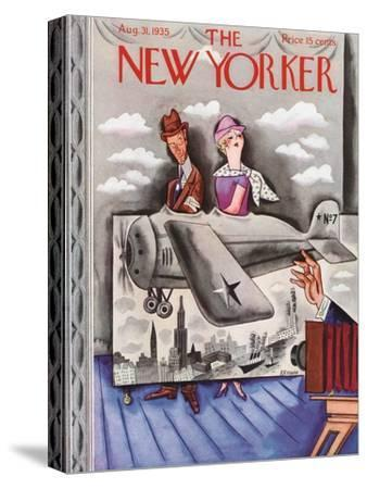 The New Yorker Cover - August 31, 1935