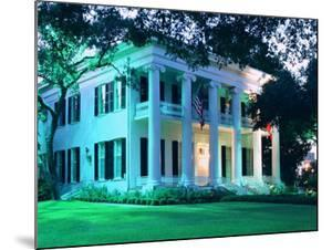 The Governor's Mansion is Shown August 30, 2000, in Austin, Texas by Harry Cabluck