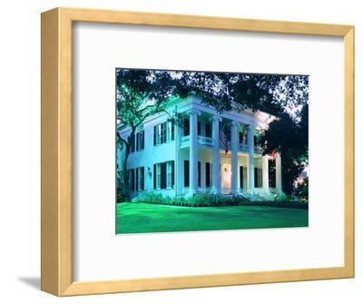 The Governor's Mansion is Shown August 30, 2000, in Austin, Texas