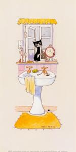 Basil in the Bathroom I by Harry Caunce
