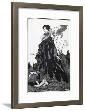 Illustration from 'Selected Poems of Algernon Charles Swinburne Clarke', Published in 1928