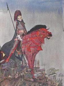 Metzengertstein by Harry Clarke