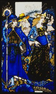 Seven dog-days we let pass, naming Queens in Glenmacnass' by Harry Clarke