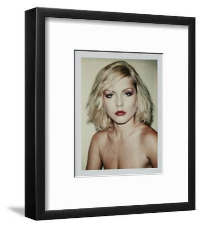 Harry, Debbie 1980 (Polaroid)-Andy Warhol-Framed Art Print
