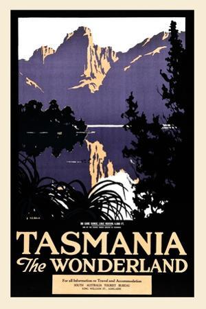 Tasmania The Wonderland by Harry Garnet Kelly