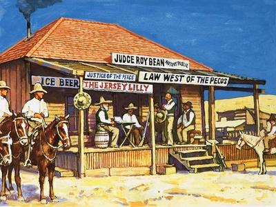 Judge Roy Bean Who Dispensed Tough Justice from His Saloon