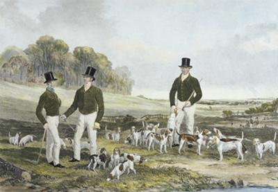 The Merry Beaglers by Harry Hall