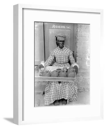 Woman Selling Breadfruit, Trinidad and Tobago, 1899-1901