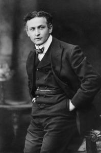 Harry Houdini, American Magician Famous for His Escape Acts. 1913 Portrait by Gray Campbell