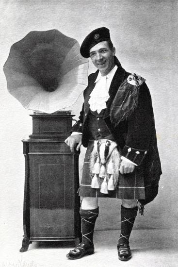 Harry Lauder, Scottish Music Hall Comedian and Singer, 20 Century--Photographic Print