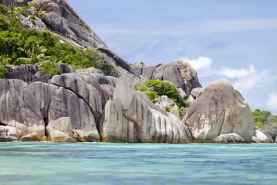 Anse Source D'Argent, La Digue, Seychelles, Dream Beach, Granite Rocks, Clear Water, Indian Ocean