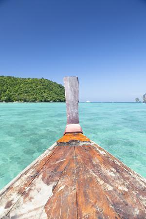 Longtail Boat Cruise at Koh Phi Phi, Thailand, Andaman Sea