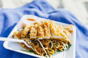 Pad Thai Chicken at Koh Phi Phi by Harry Marx
