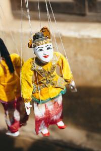 Puppet in Bagan, Myanmar by Harry Marx