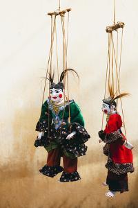 Traditional Puppet / Burmese Art in Bagan, Myanmar by Harry Marx