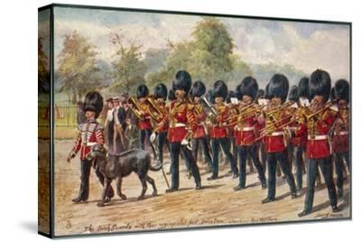 The Band of the Irish Guards March Through Hyde Park