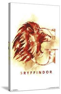 HARRY POTTER - GRYFFINDOR ILLUSTRATED