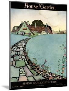 House & Garden Cover - March 1920 by Harry Richardson