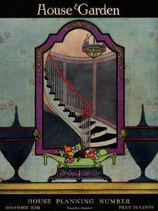 House & Garden Cover - November 1919 by Harry Richardson