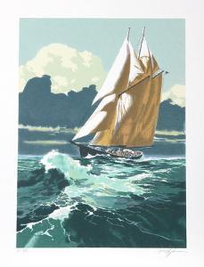 Gloucester Fisherman by Harry Schaare
