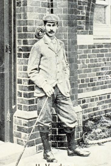 Harry Vardon (1870-1937), British golfer, cigarette card, c1903-Unknown-Giclee Print