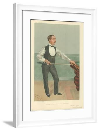 Harry W Stevenson, He Might Be Champion If There Were a Championship, 25 May 1905, Vanity Fair…-Sir Leslie Ward-Framed Giclee Print