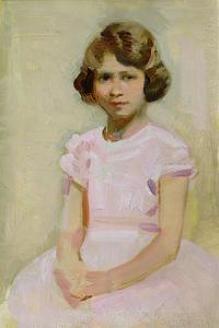 H.M. The Queen as Princess Elizabeth by Harry Watson