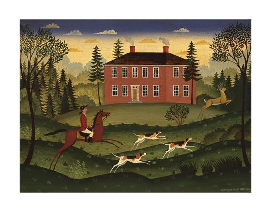 Hart Hunt-Diane Ulmer Pedersen-Art Print