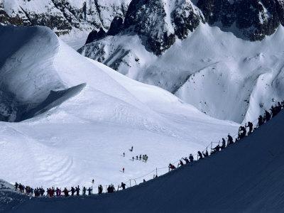 Vallee Blanche, Mont Blanc, Chamonix, Rhone Alpes, France