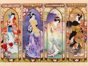 Oriental Gate by Haruyo Morita