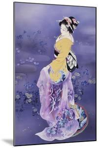 Skiyu Purple Robe by Haruyo Morita