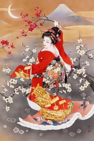 Tsuru Kame (Variant 2) by Haruyo Morita