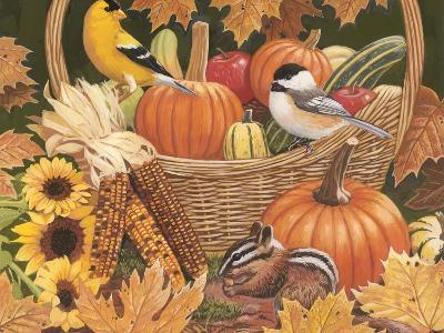 Harvest Basket-William Vanderdasson-Giclee Print