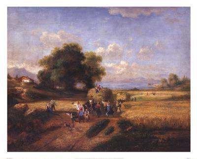 Harvest Celebration-A^ Weller-Art Print