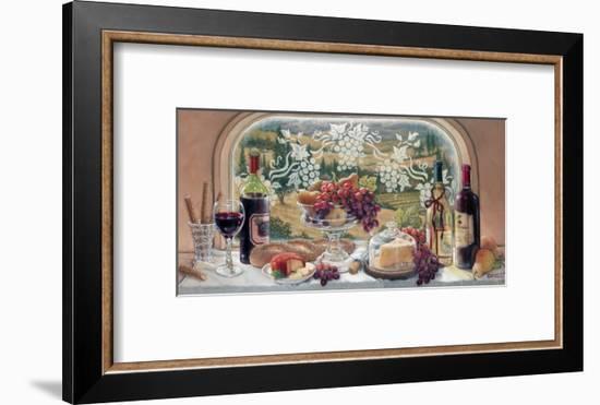 Harvest Celebration-Janet Kruskamp-Framed Art Print