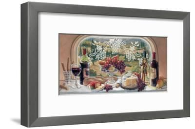Harvest Celebration-Janet Kruskamp-Framed Art Print