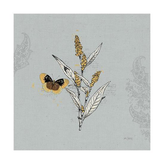 Harvest Fields II Gray-Katie Pertiet-Art Print