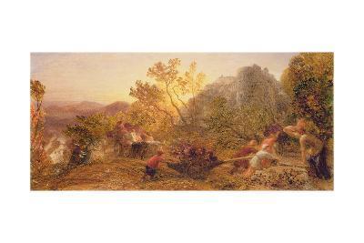 Harvest in the Vineyard, 1859-Samuel Palmer-Giclee Print