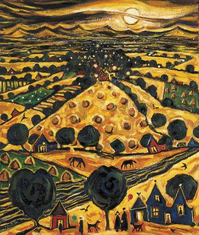 HARVEST MOON-CHARLES MONTEITH WALKER-Collectable Print