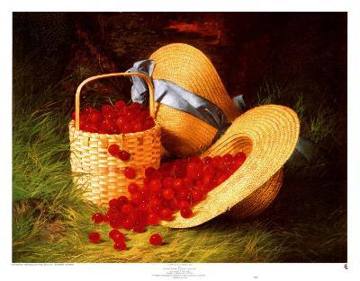 Harvest of Cherries, 1866-Robert Spear Dunning-Art Print