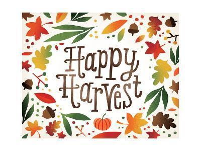 Harvest Time Happy Harvest-Michael Mullan-Art Print