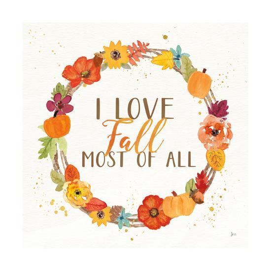 Harvest Wishes I-Jess Aiken-Art Print
