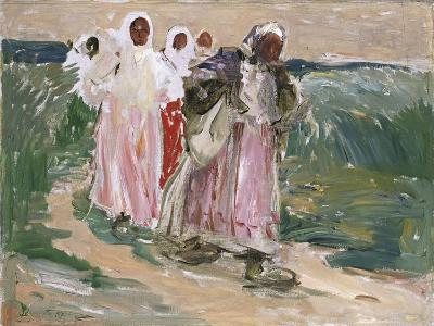 Harvest Women in Russia, 1928-Robert Sterl-Giclee Print