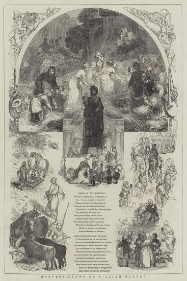 Harvest-William Harvey-Giclee Print